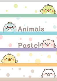 Animals pastel cutie