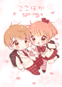 Boy and girl3(spring)