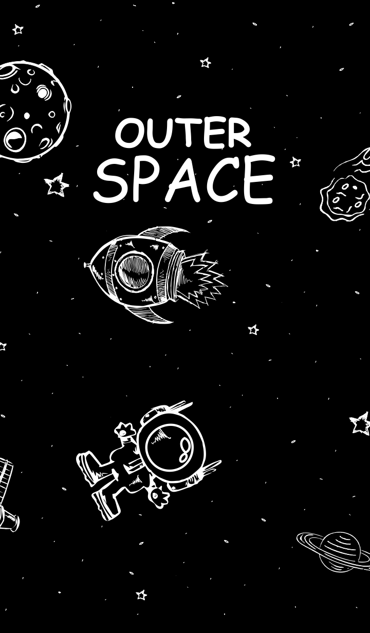 Outer Space - Explore Space Dark