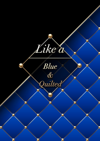 Like a - Blue & Quilted #Ultramarine