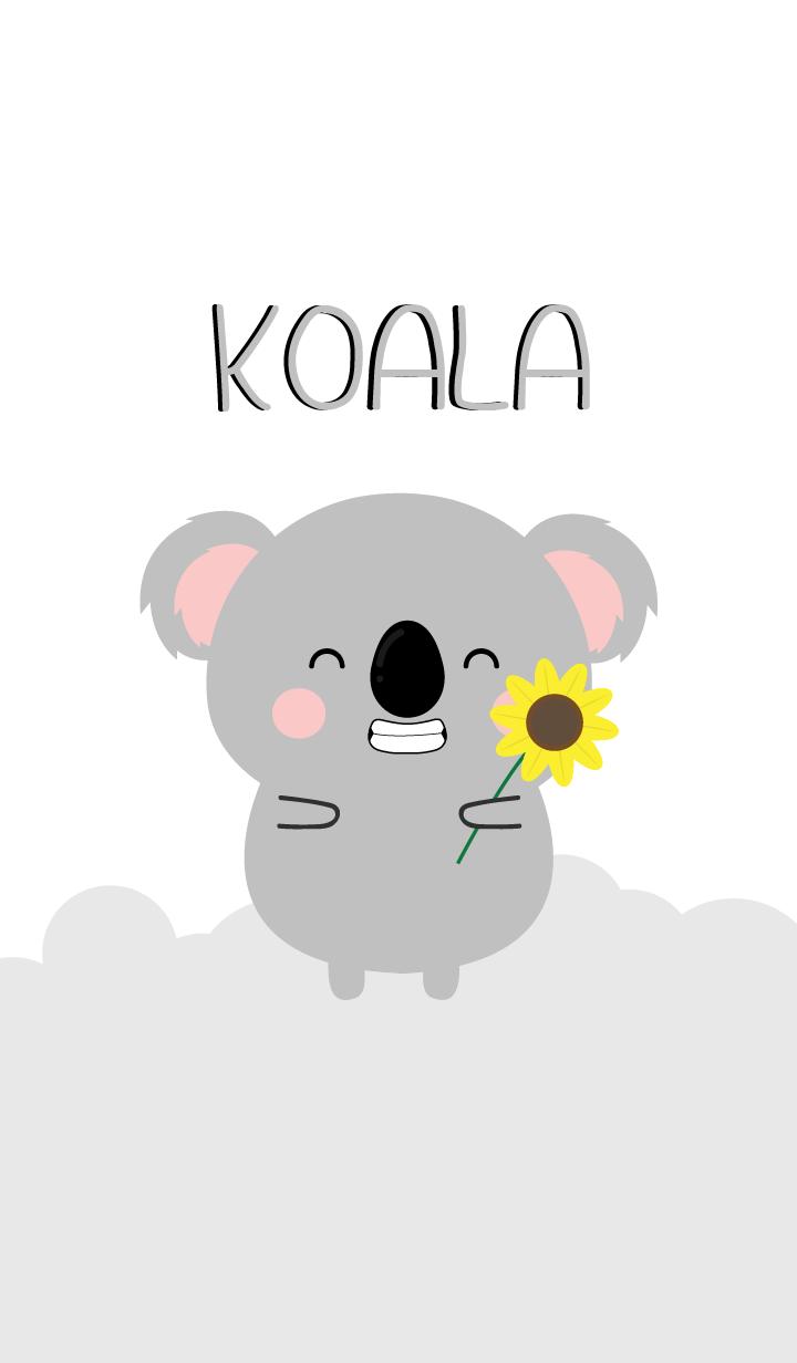 I Love Lovely Koala Theme