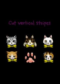 Cat vertical stripes