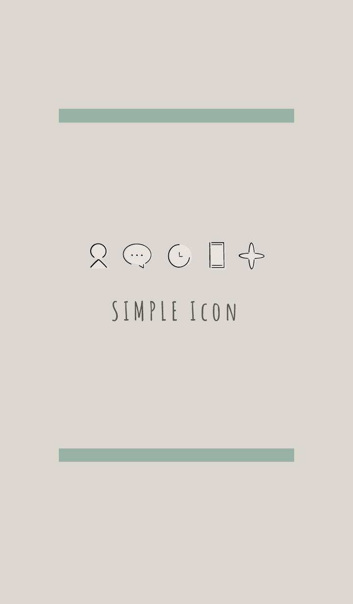 Beige Khaki : Simple Theme