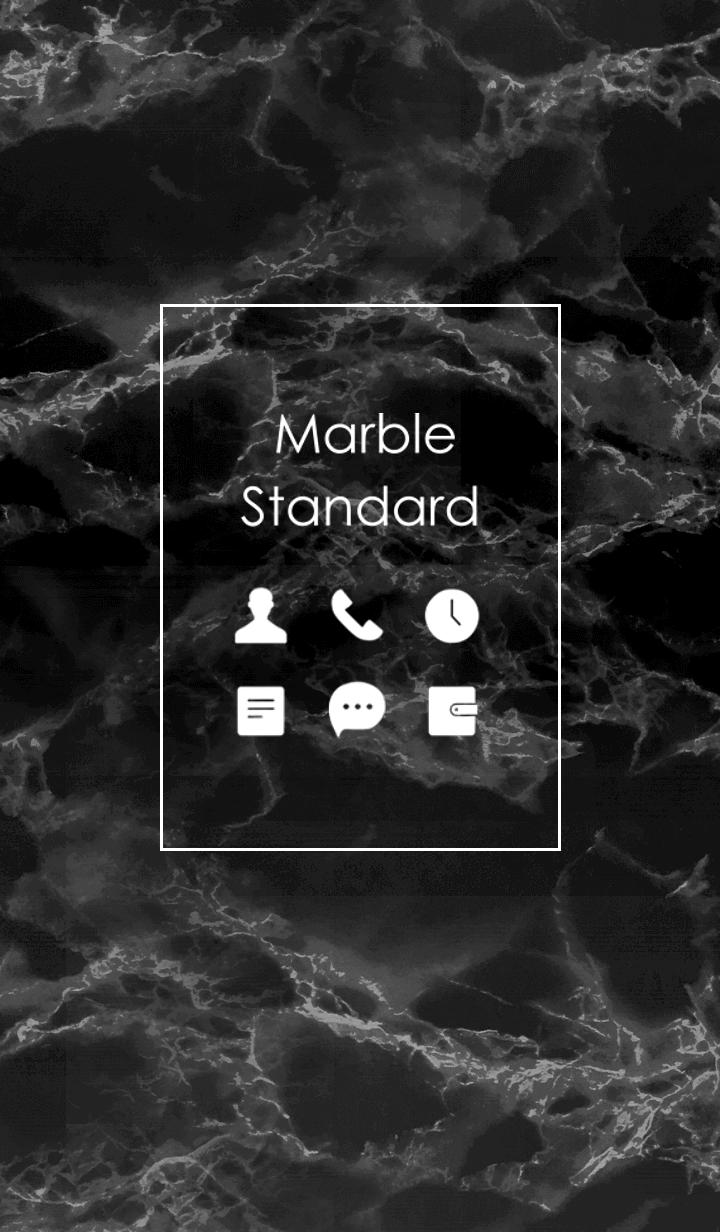Marble Standard #Black .