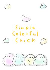 簡單 華美 小雞