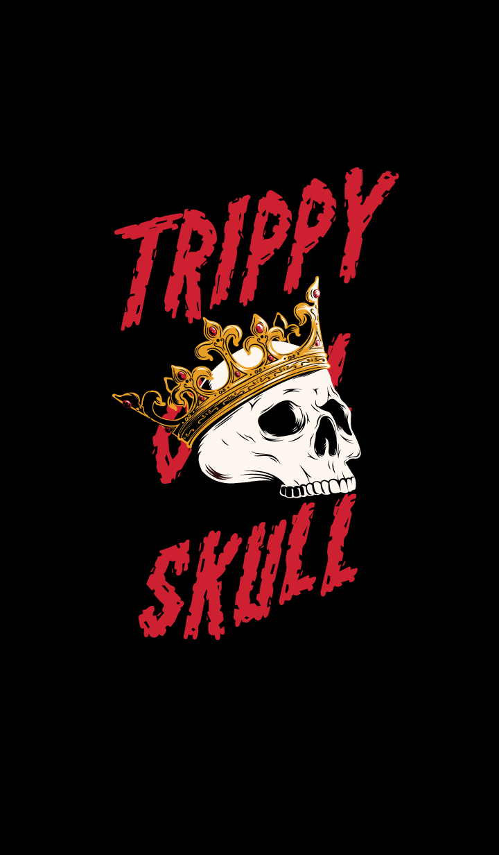 TRIPPY COOL SKULL