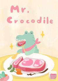 下班動物-鱷魚先生大餐篇
