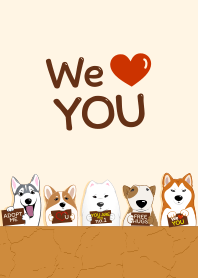 We love you (Dog lover)