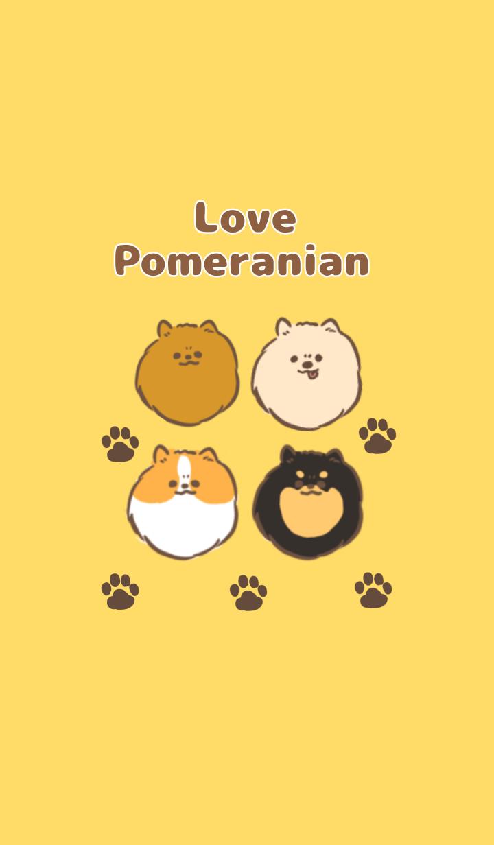 Love Pomeranian theme