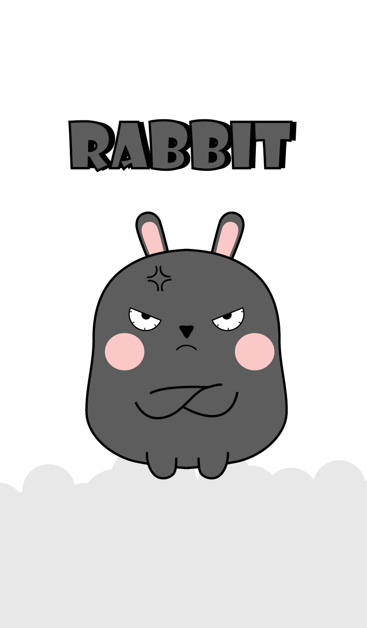 Emotion Angry Black Rabbit (jp)