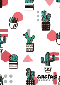 Cactus Geometric #pink
