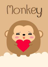 Simple Lovely Fat Monkey