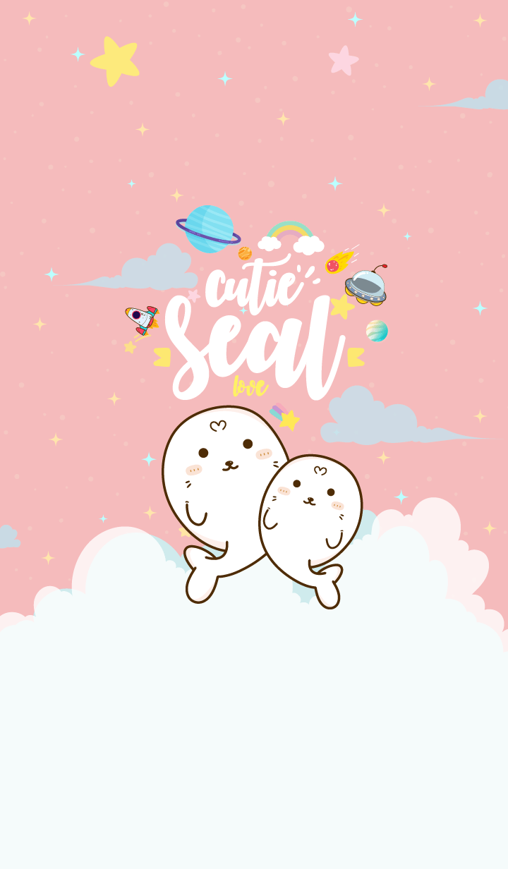 Seal Cutie Galaxy Love