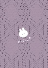 Rabbit and Knit2 Purplegray51_2