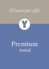 Premium Initial Y.