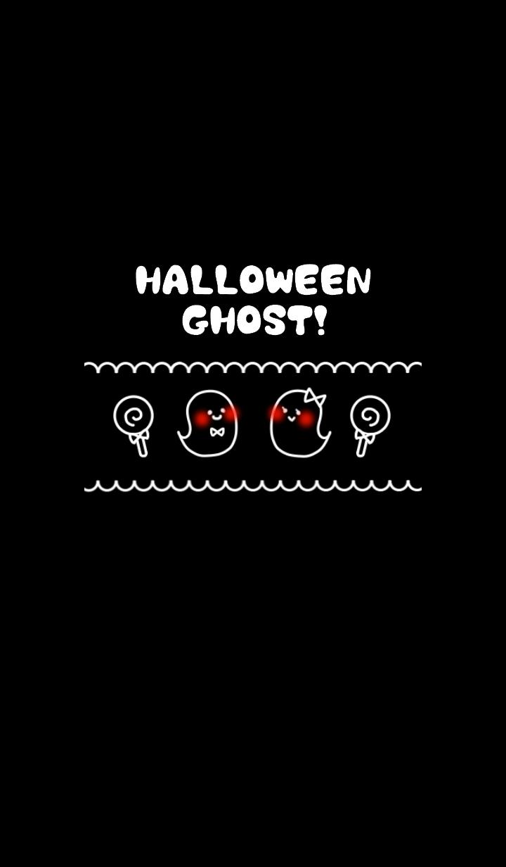 Cute! Pop! Halloween Ghost !! --4--