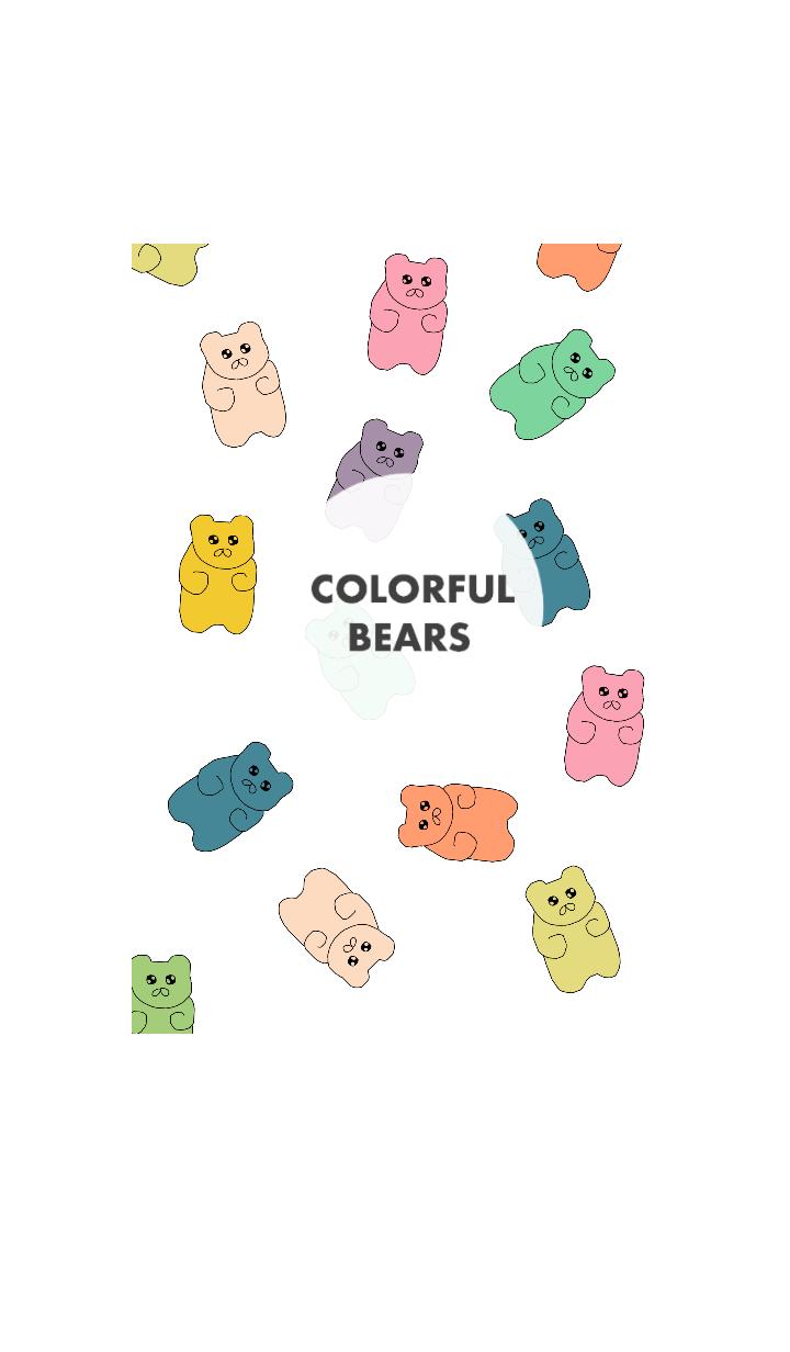 COLORFUL BEARS(English)
