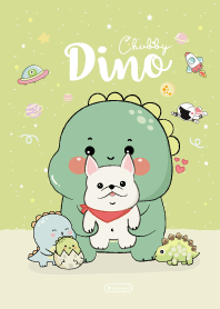 Dino Chubby and Frenchy Cute