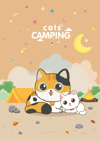 Cats Camping Lover