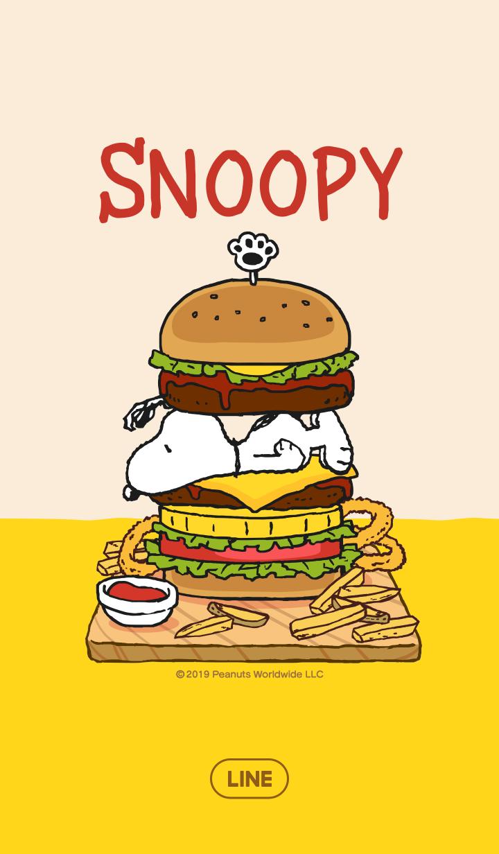 Snoopy's Hamburgers