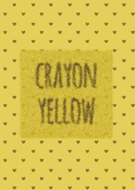 Crayon เหลือง 3 / หัวใจ