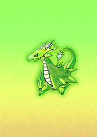 Crystal Green Dragon