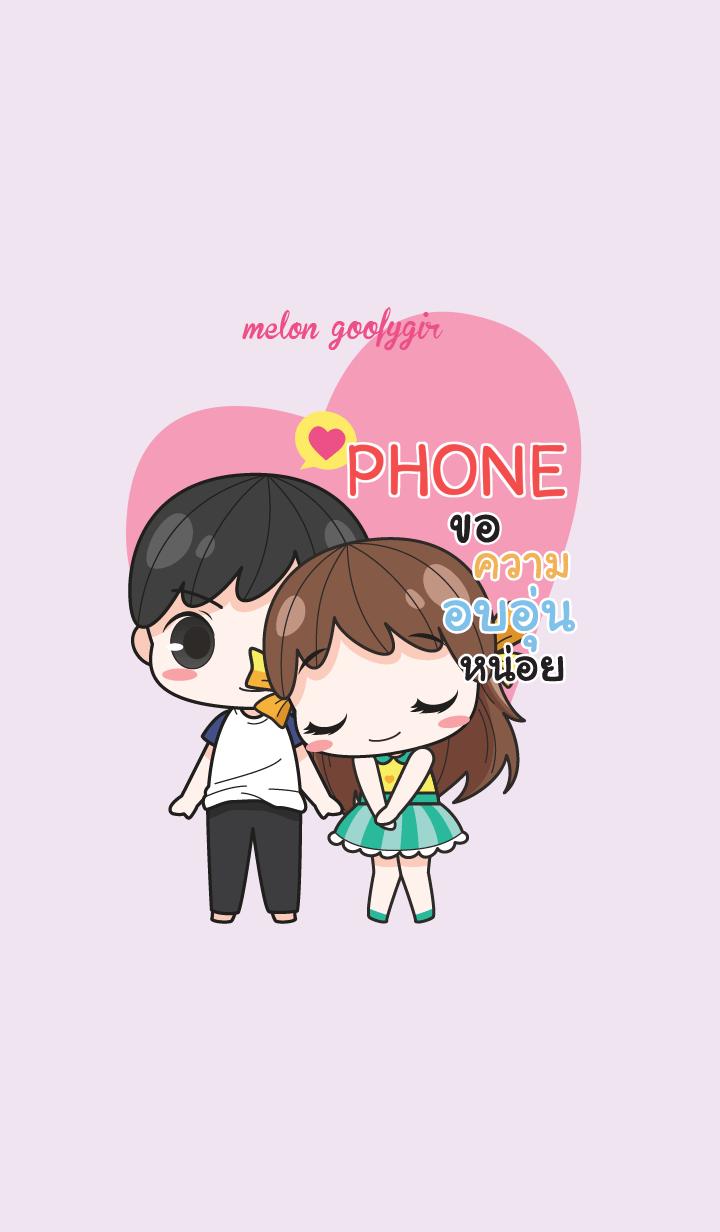 PHONE melon goofy girl_V10 e
