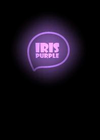 Iris Purple Neon Theme Ver.7