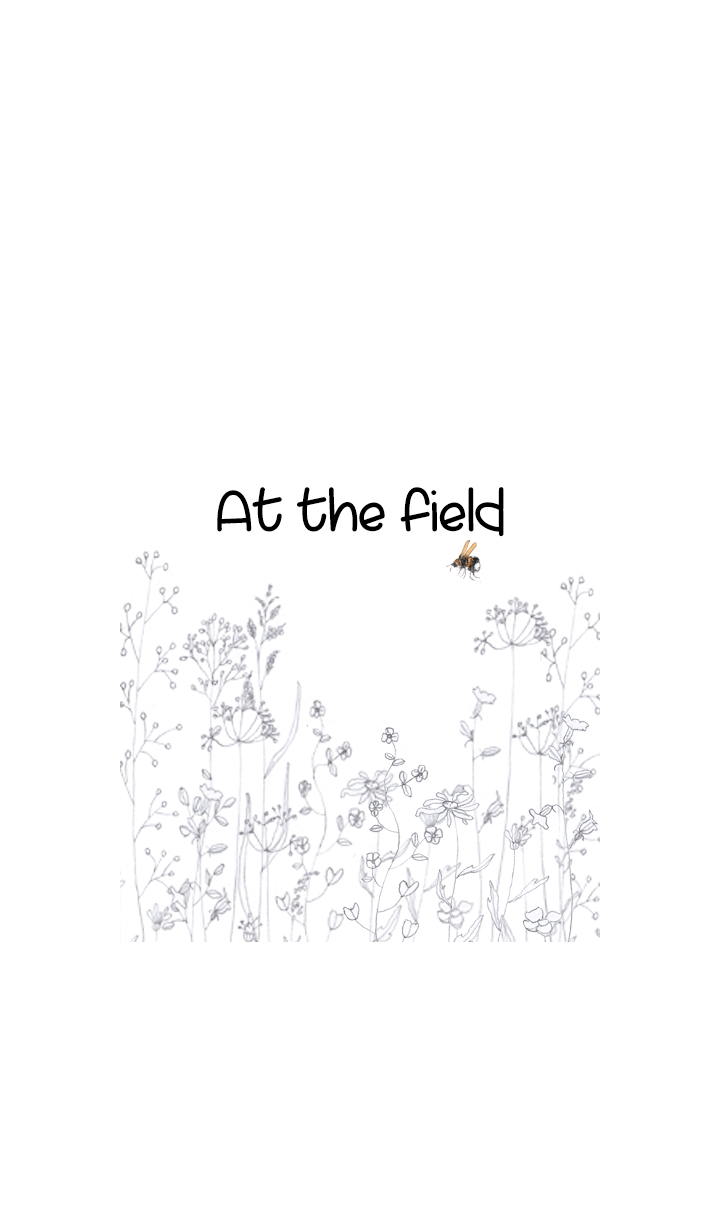At the field