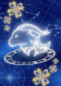 摩羯座星图四叶2021
