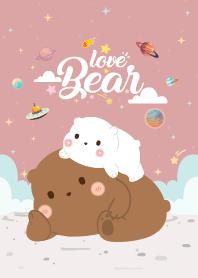 Three Bears Love Like Pink