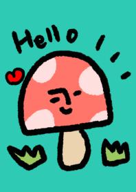 Hello mushroom Theme