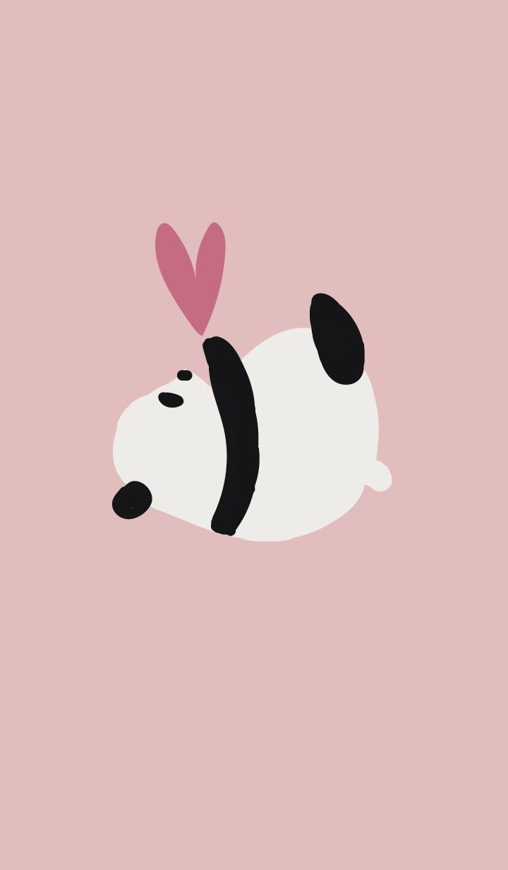 Pink panda-chan heart catch