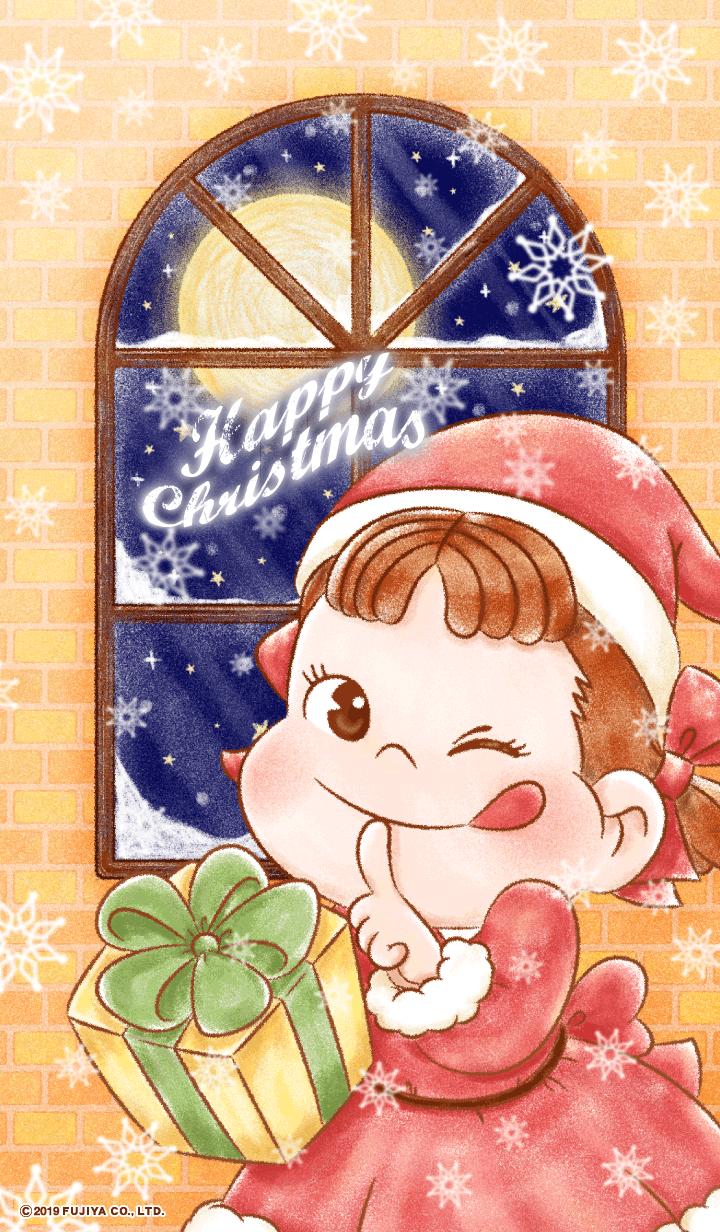 ペコちゃんのハッピークリスマス