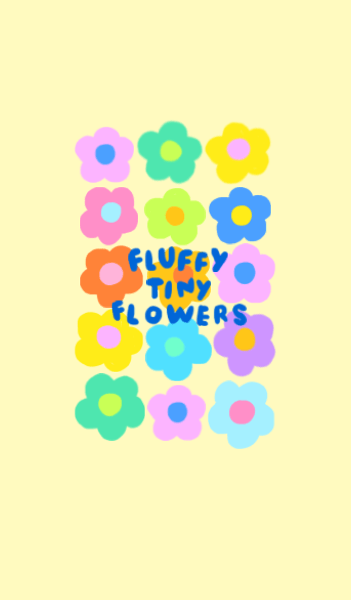 Fluffy tiny flowers