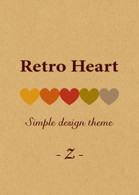"Kraft Retro Heart ""Z&q..."