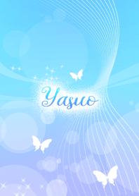 Yasuo skyblue butterfly theme