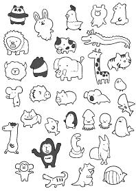 Doodling -ANIMALS-