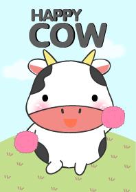 Happy Cute Cow Theme
