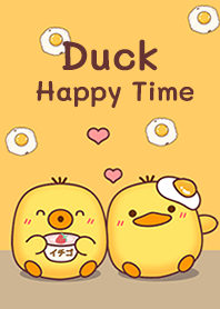 Duck : Happy time!