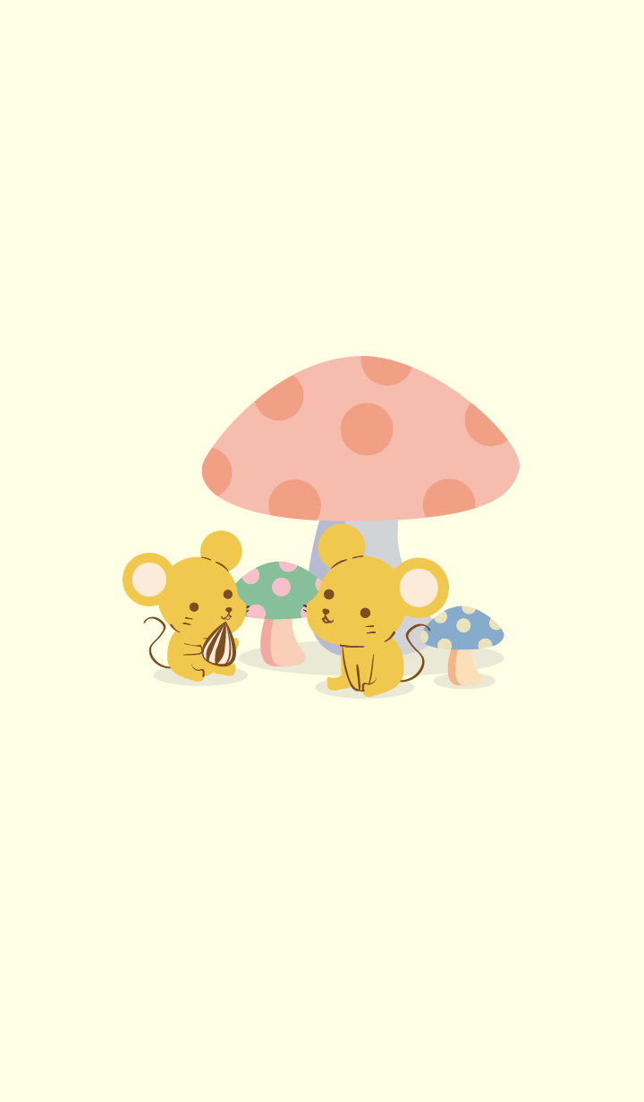 forest yellow mouse