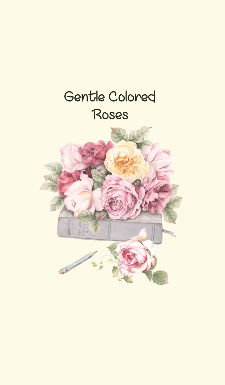 gentle colored roses