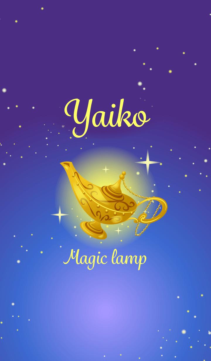 Yaiko-Attract luck-Magiclamp-name