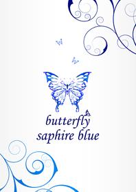 new butterfly sapphire blue