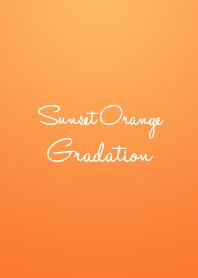 Sunset Orange Gradation