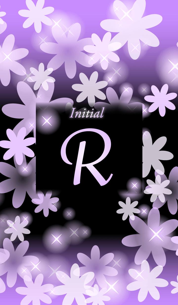 R-Initial-Flower-Purple&black