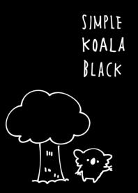 Simple koala black