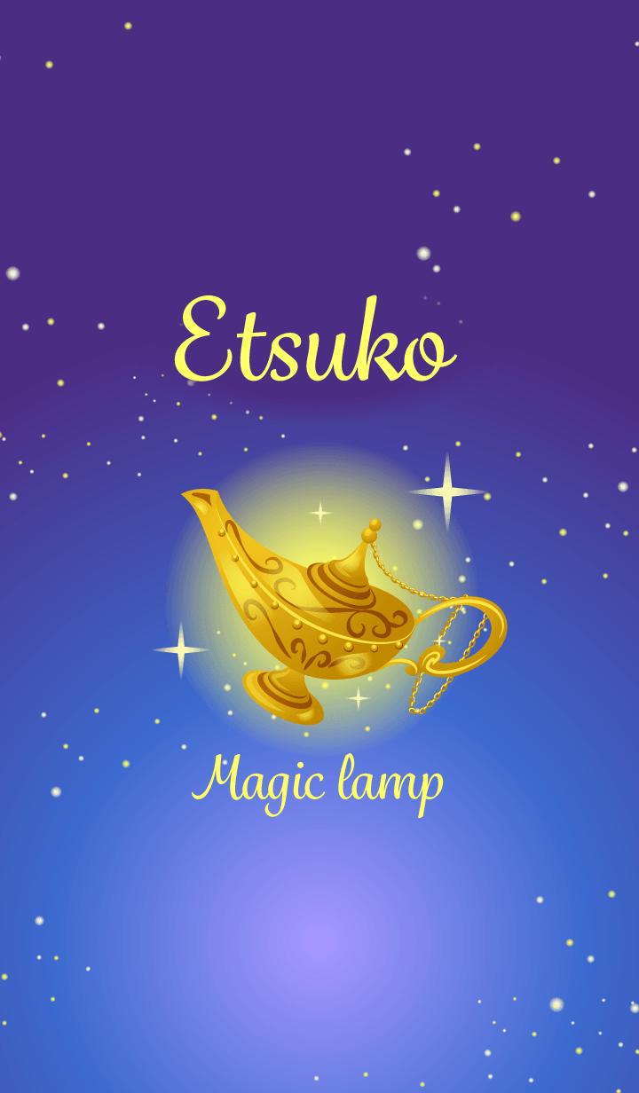 Etsuko-Attract luck-Magiclamp-name
