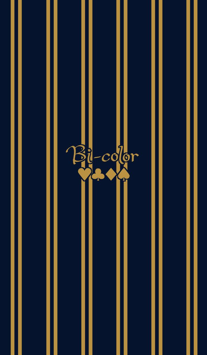Bi-color -Double stripe-