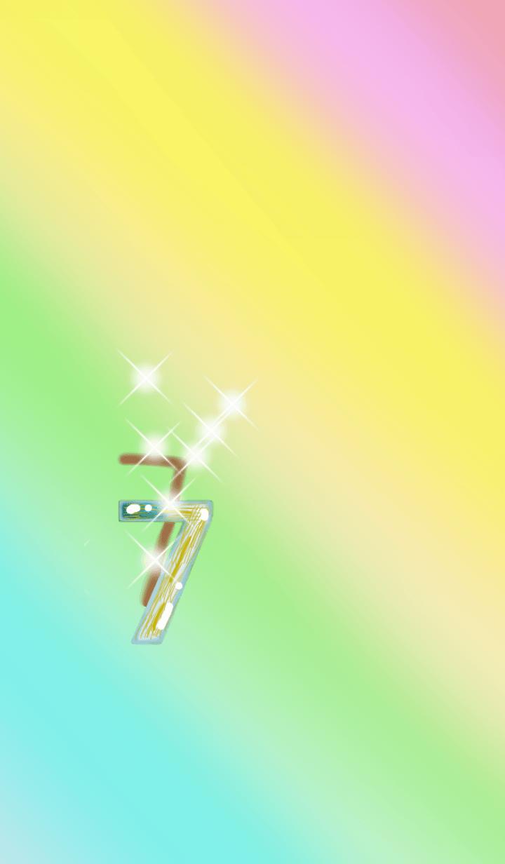 Gold & Silver Rutile Quartz 7seven.R.